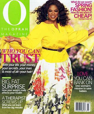 O The Oprah Magazine : Books On A Budget