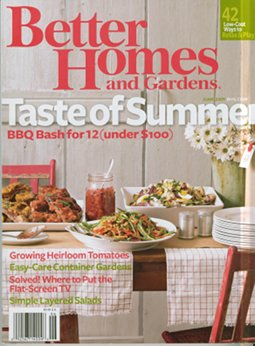 Better Homes and Gardens mentions PaperBack Swap