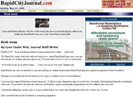 The Rapid City Journal : Book Swap