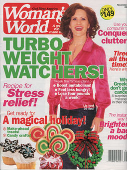Woman's World : Clear Your Clutter ... Online!