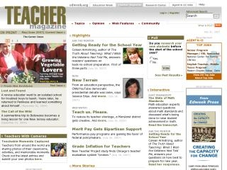 Teacher Magazine : Cyber Swapping