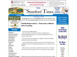The Stamford Times : Book Swap: A Different Kind Of Recycling